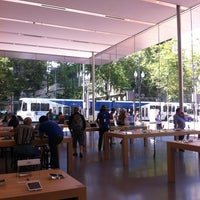 Photo taken at Apple Pioneer Place by Rob B. on 6/2/2014