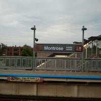 Photo taken at CTA - Montrose by Constance F. on 6/5/2013