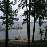Photo taken at Augusta Sailing Club by Brenda D. on 10/13/2013