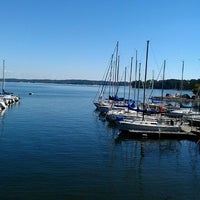 Photo taken at Augusta Sailing Club by Brenda D. on 10/12/2013