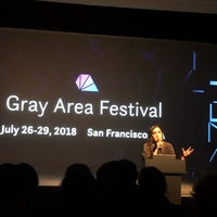 Foto tirada no(a) Gray Area Art & Technology Theater por Sigward M. em 4/22/2018