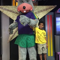 Photo taken at Chuck E. Cheese's by Jasmine F. on 8/12/2015