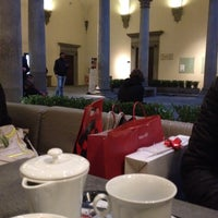 Photo taken at Caffe' Giacosa a Palazzo Strozzi by s-cape.travel on 12/22/2013