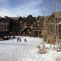 Photo taken at The Ritz-Carlton, Bachelor Gulch by Courtney on 3/14/2013