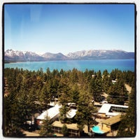 Photo taken at Harveys Lake Tahoe Resort & Casino by Lucy O. on 5/18/2013