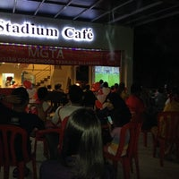 Photo taken at Stadium Cafe by Fiqri M. on 5/17/2014