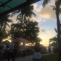 Photo taken at Sigi's Bar & Grill on The Beach by Salmah intan S. on 6/10/2016