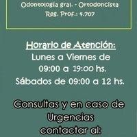 Photo taken at Consultorio Odontológico Dra. Patricia N. Vera by Consultorio Odontológico Dra. Patricia N. Vera on 9/2/2014