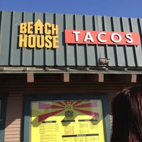 Photo taken at Beach House Tacos by Kate W. on 3/4/2013