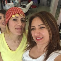 Photo taken at Pandora Bayan Kuaförü by Meliha D. on 5/26/2016
