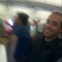 Photo taken at Gate 4 by Carlos Olmo V. on 10/21/2012
