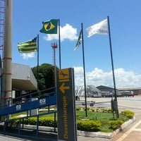 Photo taken at Goiânia Airport (GYN) by Gisele I. on 3/4/2013