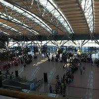 Photo taken at Hamburg Airport Helmut Schmidt (HAM) by Ayse H. on 7/7/2013