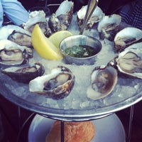 Photo taken at Hog Island Oyster Co. by Van L. on 10/10/2012