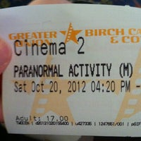 Photo taken at Birch Carroll & Coyle Cinemas by Mellissa D. on 10/20/2012