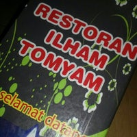 Photo taken at Restoran Ilham Tomyam by SieRra G. on 10/14/2015