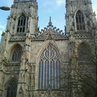 Photo taken at York Minster by Max T. on 1/12/2013