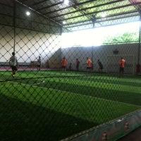 Photo taken at Megha Futsal by Dex B. on 2/25/2013
