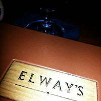 Photo taken at Elway's by Ryan Mayor V. on 6/24/2013
