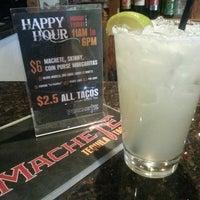 Photo taken at Machete Tequila + Tacos by Ryan Mayor V. on 9/19/2013