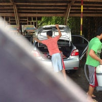 Photo taken at Peoples Choice Carwash by Kristine A. on 7/12/2013