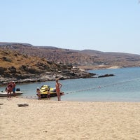 Photo taken at Porto Koundouros Beach by 💋лолиьта💋 on 7/26/2013
