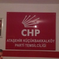 Photo taken at Chp Küçükbakkalköy Mahalle Temsilciliği by Tanya G. on 10/24/2013