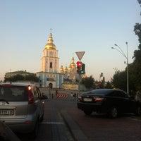 Photo taken at михайловская церковь by Дмитрий Г. on 8/7/2013