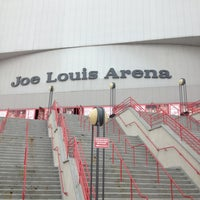 Photo taken at Joe Louis Arena by Angie P. on 12/30/2012