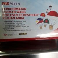 Photo taken at Pos Malaysia by Zainal A. on 7/13/2017