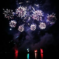 Photo taken at IllumiNations: Reflections of Earth by Elizabeth G. on 12/2/2012