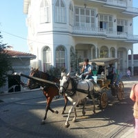 Photo taken at Büyükada by Olga V. on 7/3/2013