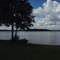 Photo taken at Großer Stechlinsee by Thomas K. on 6/14/2014