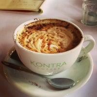 Photo taken at Kontra Coffee by Jinyi L. on 3/7/2013