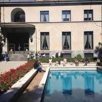 Photo taken at Villa Necchi Campiglio by Filippo Z. on 5/26/2013