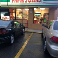 Photo taken at Papa John's Pizza by Julie A. on 9/5/2013