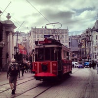 Photo taken at İstiklal Avenue by Hanife Ö. on 11/8/2013