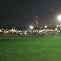 Photo taken at Sanam Luang by Muaynarok on 12/26/2012