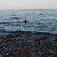 Photo taken at Средиземное море by Мария К. on 8/23/2014