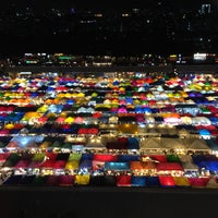 Photo taken at Train Night Market Ratchada by MD on 6/12/2016