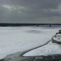 Photo taken at мост через Барнаулку by Alisa N. on 4/3/2013