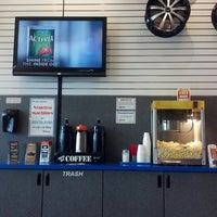 Photo taken at Les Schwab Tire Center by Motorcycle D. on 2/20/2013