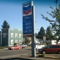 Photo taken at Chevron by Motorcycle D. on 10/2/2012