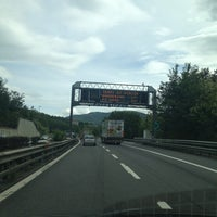 Photo taken at A1/ casello Pian del Voglio by Moky  F. on 5/31/2013