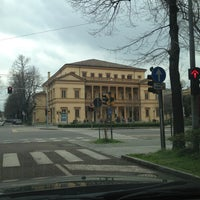 Photo taken at Teatro Storchi by Moky  F. on 3/27/2013