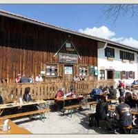 Photo taken at Schlossbergalm by Ralf K. on 3/29/2014