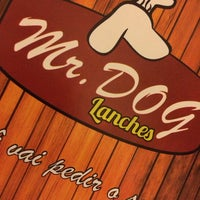 Photo taken at Mr. Dog Lanches by Diego A. on 1/19/2014