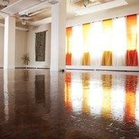 Photo taken at Yoga Santosha by Yoga Santosha on 3/10/2014