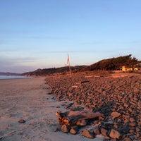 Photo taken at Ocean Point Inn by Kristin S. on 11/23/2013