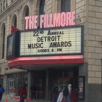 Photo taken at The Fillmore Detroit by Jesse E. on 4/19/2013